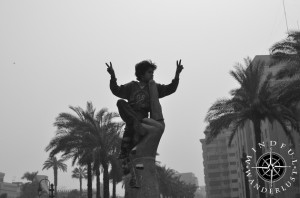 12 Months on the Road-Tahrir Square, Cairo, Egypt