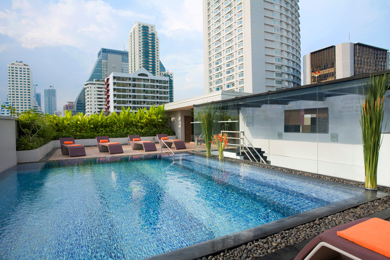 Infinity Rooftop Pool-Photo courtesy of Citadines Sukhumvit 23