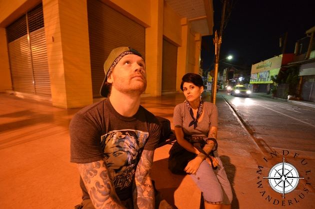 Derek and Giselle in Chiang Rai, Thailand