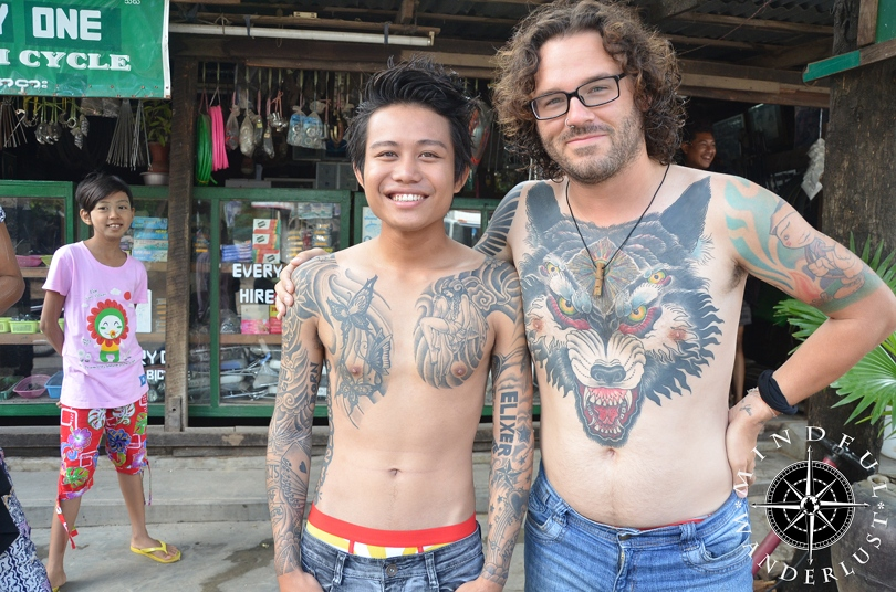 Tattooed People Of Myanmar Mindful Wanderlustmindful Wanderlust