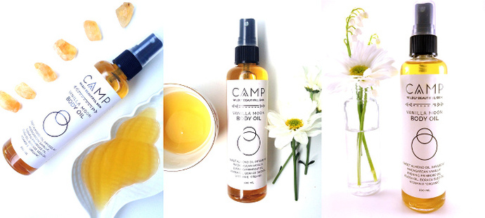HeartCoeur CAMP Vanilla Moon Body Oil
