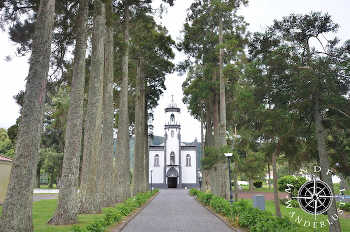 The small church in Sete Cidades