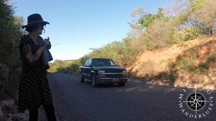 Hitchhiking in Mexico