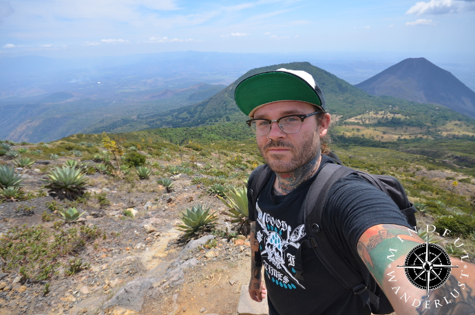 Hiking up Santa Ana Volcano, El Salvador